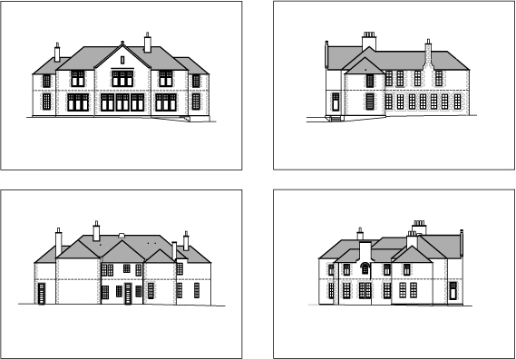Islay House Elevations